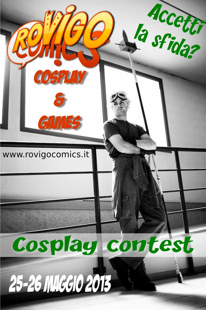 Rovigo Comics Cosplay & Games